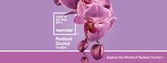 Pantone Color of the Year 2014- Radiant Orchid