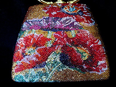 Lisa Epstein- Field of Poppies purse