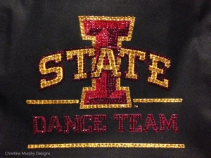 Iowa State dance team bag
